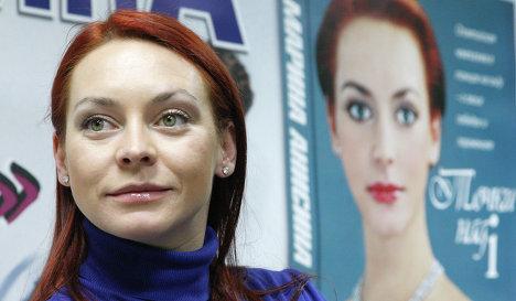 Знаменитая фигуристка Марина Анисина