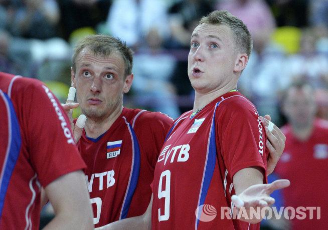 Россияне Сергей Макаров (слева) и Алексей Спиридонов