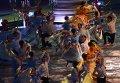 Артисты выступают на церемонии открытия XXVII Всемирной летней Универсиады 2013 на стадионе Казань Арена в Казани