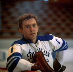 1973 год - Вратарь хоккейной команды Динамо (Москва) Александр Пашков