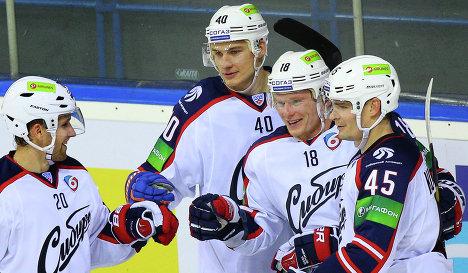 Сибирь проведет две контрольные игры до возобновления чемпионата   Сибирь проведет две контрольные игры до возобновления чемпионата КХЛ