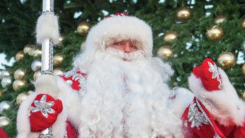Встреча Деда Мороза в Санкт-Петербурге