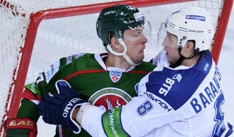 Алексей Терещенко (слева) и Денис Баранцев
