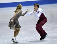Российские фигуристы Виктория Синицына и Руслан Жиганшин (Россия)