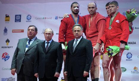 Церемонии открытия 37-го чемпионата мира по самбо