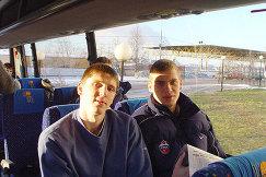 Виктор Хряпа и Сергей Моня (слева направо)
