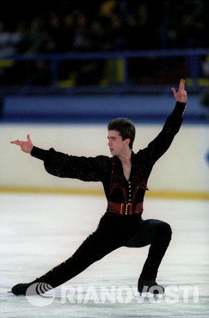Золотой призер международного турнира по фигурному катанию Гран-При Кубок России Алексей Урманов