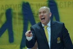 Главный тренер БК Химки Римас Куртинайтис