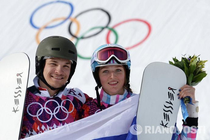Вик Уайлд (Россия) и Алена Заварзина (Россия)