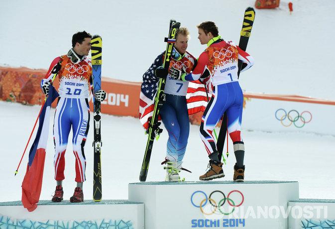 Стив Миссилье, Тед Лигети и Алексис Пентюро (слева направо)