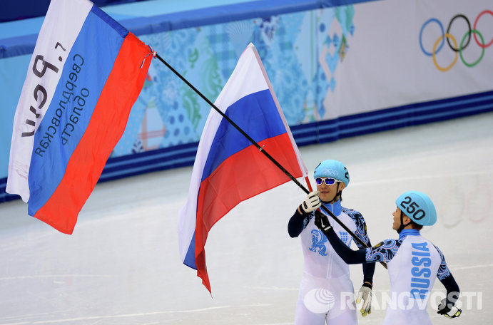 Владимир Григорьев и Виктор Ан (слева направо)