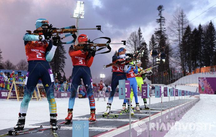 Слева направо: Вита Семеренко (Украина) и Яна Романова (Россия)