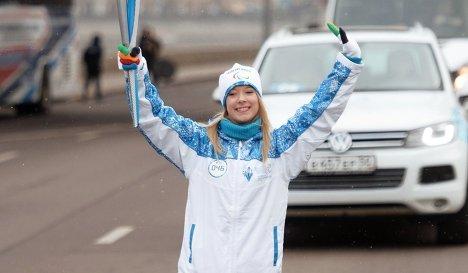 Российская фигуристка Екатерина Боброва