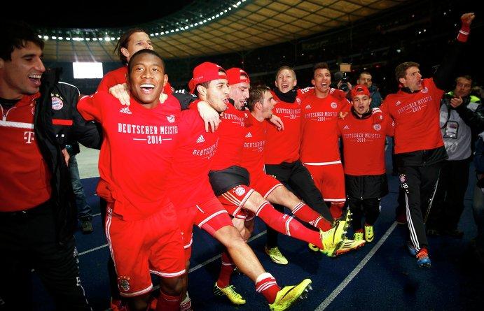 Бавария досрочно стала чемпионом Германии, выиграв титул в 24-й раз