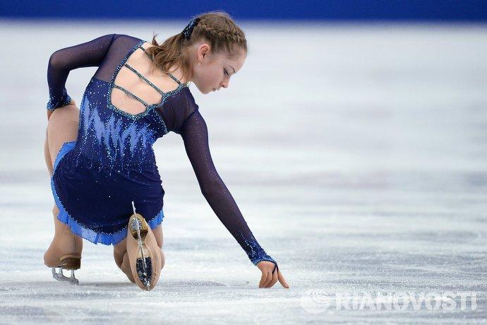 Российская фигуриста Юлия Липницкая