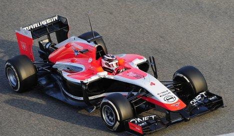 Болид команды Маруся на сезон Формулы-1-2014