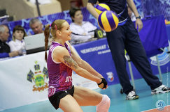 Волейболистка краснодарского Динамо Светлана Крючкова