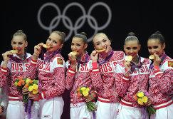 ОИ - 2012. Художественная гимнастика. Группы. Финал