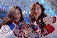 Елена Ильиных (слева) и Аделина Сотникова