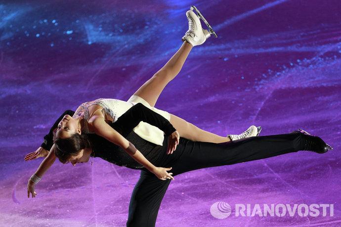 Василиса Даванкова и Александр Энберг