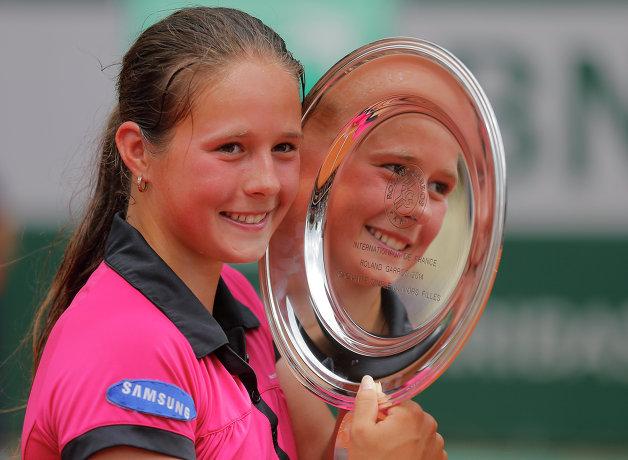 Российская теннисистка Дарья Касаткина стала победительницей Ролан Гаррос среди юниорок