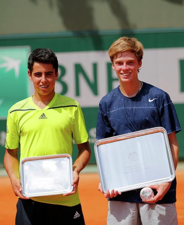 В финальном матче 16-летний Рублев (4-й номер посева) победил 17-летнего испанца Хауме Антони Мунара Клара (7)