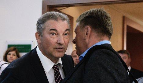 Владислав Третьяк (слева)