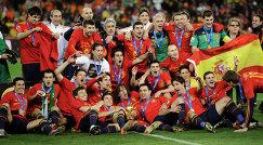 Футболисты сборной Испании, 2010 год