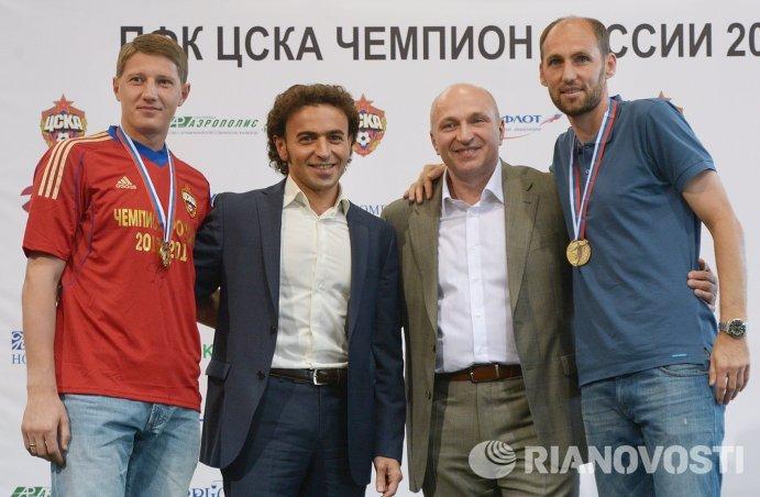 Сергей Чепчугов, Роман Бабаев, Сергей Чебан и Элвир Рахимич (слева направо)