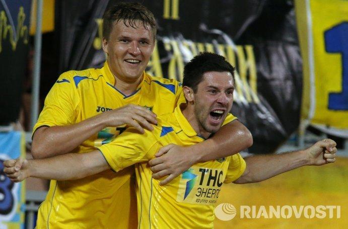 Александр Бухаров (слева) и Хрвое Милич