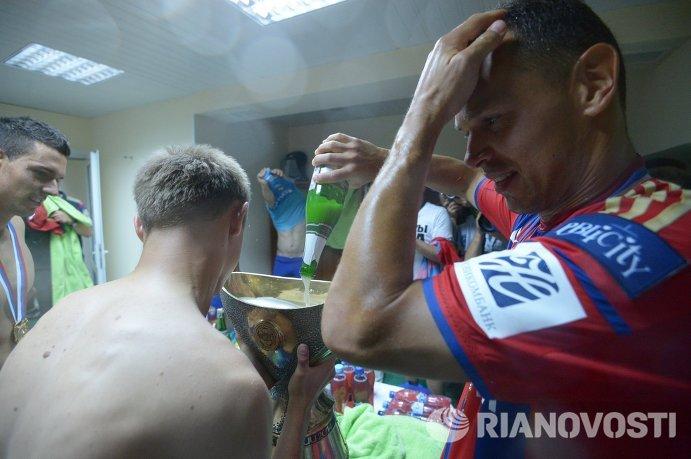 Футбол. Суперкубок России. Матч ЦСКА - Ростов