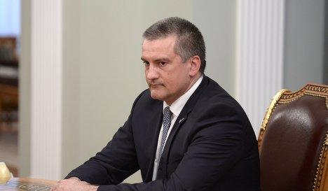 Исполняющий обязанности губернатора Крыма Сергей Аксенов
