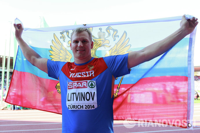 Россиянин Сергей Литвинов