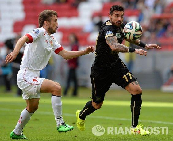 Благой Георгиев (справа) и Максим Семакин