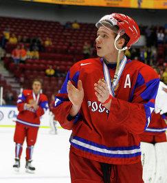 Нападающий молодежной сборной России Богдан Якимов
