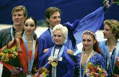 Призеры XVIII Олимпийских игр в спортивных танцах на льду