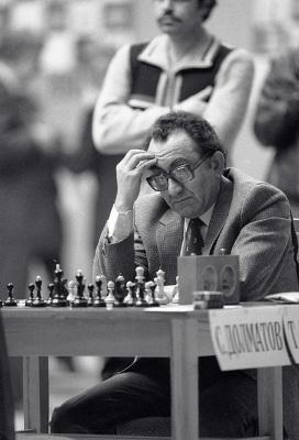 Экс-чемпион мира по шахматам Тигран Петросян
