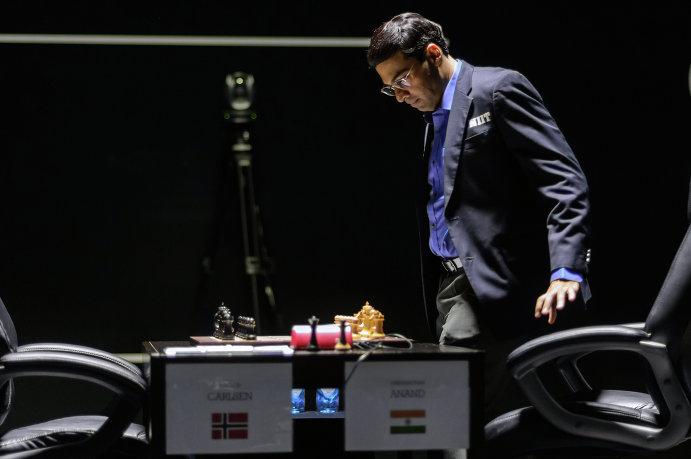 Индийский гроссмейстер Вишванатан Ананд