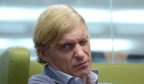 Руководитель велосипедной команды Tinkoff-Saxo Олег Тиньков.