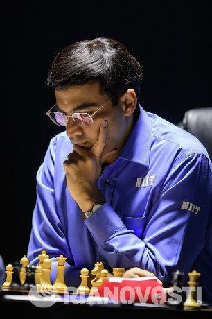 Шахматист Вишванатан Ананд (Индия)