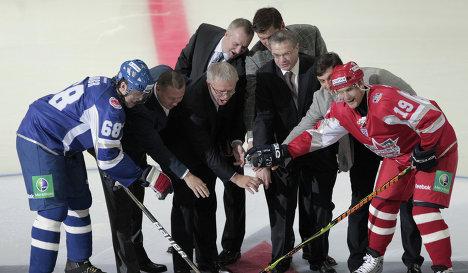 Хоккей. КХЛ. Матч звезд