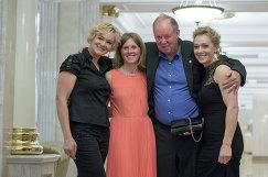Оксана Рочева, Яна Романова, Вольфганг Пихлер и Ольга Зайцева (слева направо)
