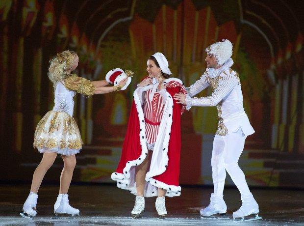 Катарина Гербольдт, Ирина Слуцкая (в центре) и Брайан Жубер
