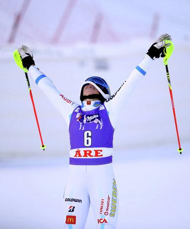 Шведская горнолыжница Мария Пиетиля-Хольмнер