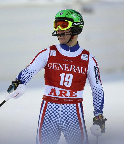 Александр Хорошилов на этапе Кубка мира в Оре (Швеция)