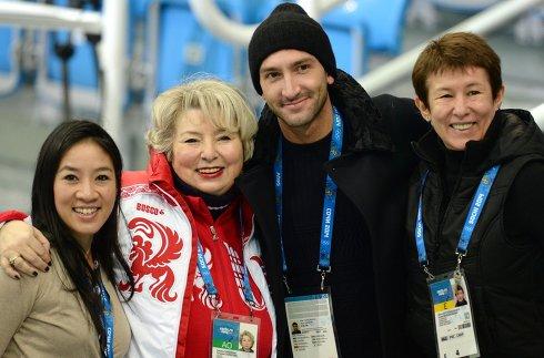 Олимпиада 2014. Фигурное катание. Тренировки