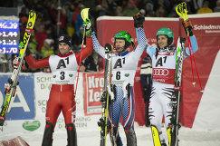 Стефано Гросс, Александр Хорошилов и Феликс Нойройтер (слева направо)