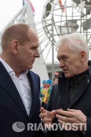 Александр Карелин и Геннадий Тимченко