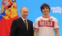 Владимир Путин (слева) и Вик Уайлд