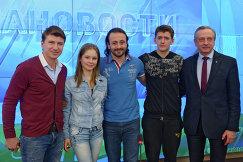 Пресс-конференция, посвященная шоу Мы-Чемпионы!
